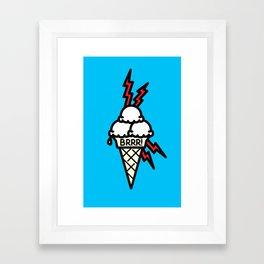 Brrrr Framed Art Print