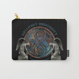 Doctor Who Gallifrey University School Crest Carry-All Pouch