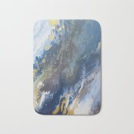 Golden Glitter Commits Bath Mat
