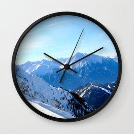 snow snow... Wall Clock