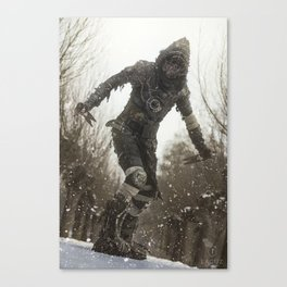 Cold Wasteland Canvas Print