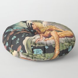 Don't forget me Floor Pillow
