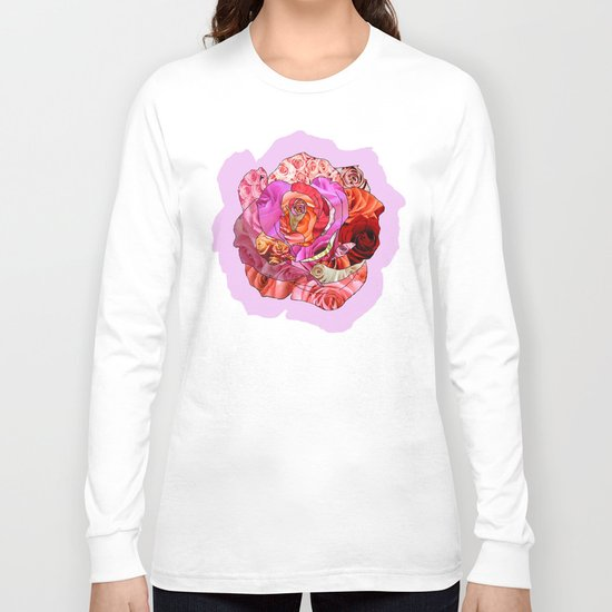 Rose Of Roses Long Sleeve T-shirt