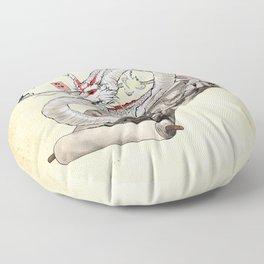 Okami Dragon Zodiac Sign Floor Pillow
