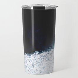 Ocean III (drone photography) Travel Mug