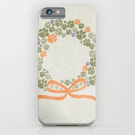 A Merry Clemson Christmas iPhone Case
