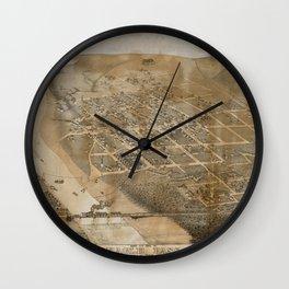 Eagle Pass 1887 Wall Clock