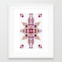 kaleidoscope Framed Art Prints featuring Kaleidoscope by Karolis Butenas
