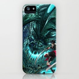Monster Hunter Files iPhone Case