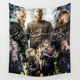 Ragnar's sons Wall Tapestry