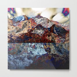 Tahoe Reflection Metal Print