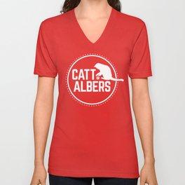 Catt Albers! Unisex V-Neck