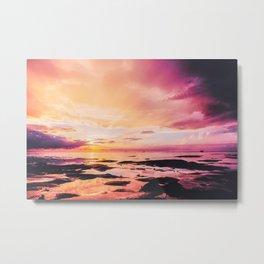 Maldivian sunset 4 Metal Print