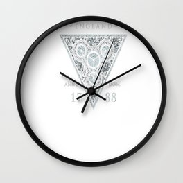 The Room Three - Grey Holm T-Shirt Wall Clock