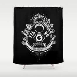 Call Me On the Ouija Board Shower Curtain