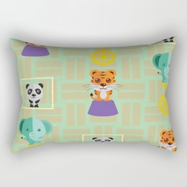 Endangered Species Rectangular Pillow