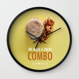 We Make a Great Combo Wall Clock