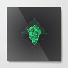 Enchanted Iceberg - Vitality Metal Print