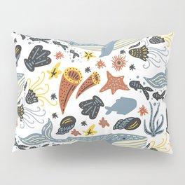 Sea Pattern #1 Pillow Sham
