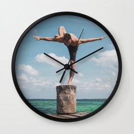 Puerto Morelas Hip Opener Wall Clock