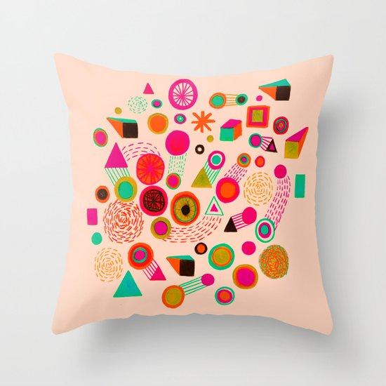 Galaxies III Throw Pillow