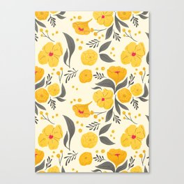 Marigold Mayhem Canvas Print