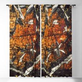 Pyroxene Crystals Blackout Curtain