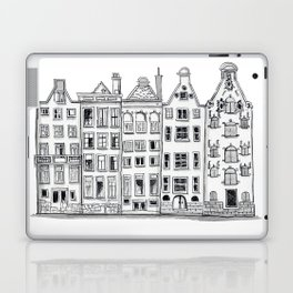 Amsterdam Canal Houses Sketch Laptop & iPad Skin