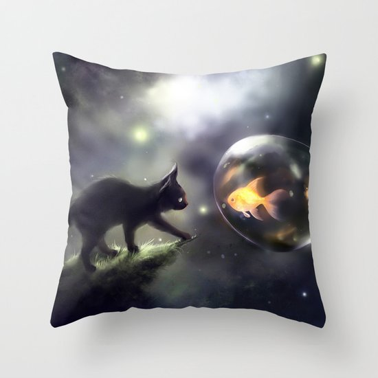mutual thing Throw Pillow