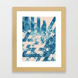 Weave Framed Art Print