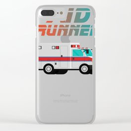 Funny Ambulance Shirt - Aid Runner Rescuer Gift Clear iPhone Case