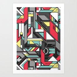 Tech Skool Art Print