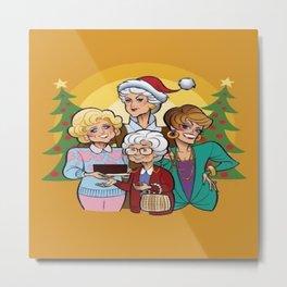 A Golden Girls Christmas Metal Print