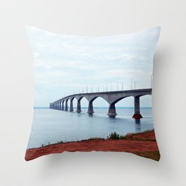 From PEI to NB Throw Pillow