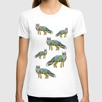 foxes T-shirts featuring Foxes by nessieness