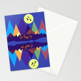 Mountain Scene #3 Stationery Cards