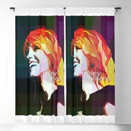 Girl In Rock Blackout Curtain
