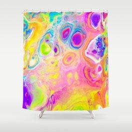 Rainbow Cells Shower Curtain