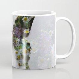 Beautiful floral butterfly Coffee Mug