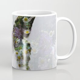 Beautiful floral butterfly Coffee Mug