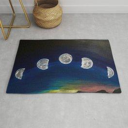 Moon Phase Rug