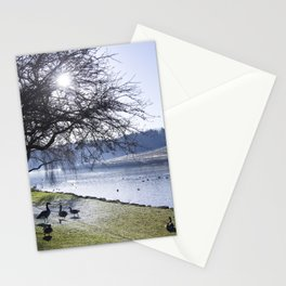 Misty Morning in Colour Stationery Cards