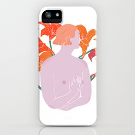 Fire Lilies iPhone Case