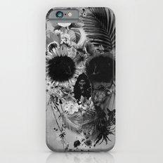 Garden Skull B&W Slim Case iPhone 6s