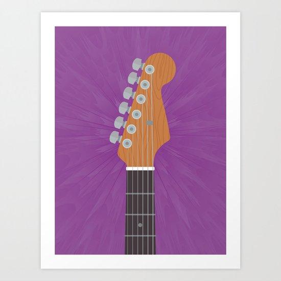 Guitar Heroes #7 Art Print