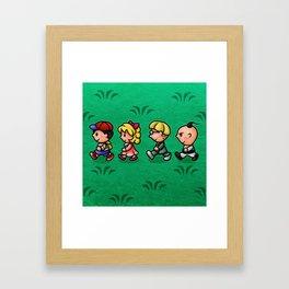 Earthbound Guys Framed Art Print