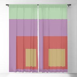 Color Ensemble No. 4 Blackout Curtain
