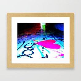 A way out #1 Framed Art Print