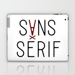 Sans Serif Laptop & iPad Skin