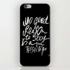 GOOD REASONS iPhone & iPod Skin